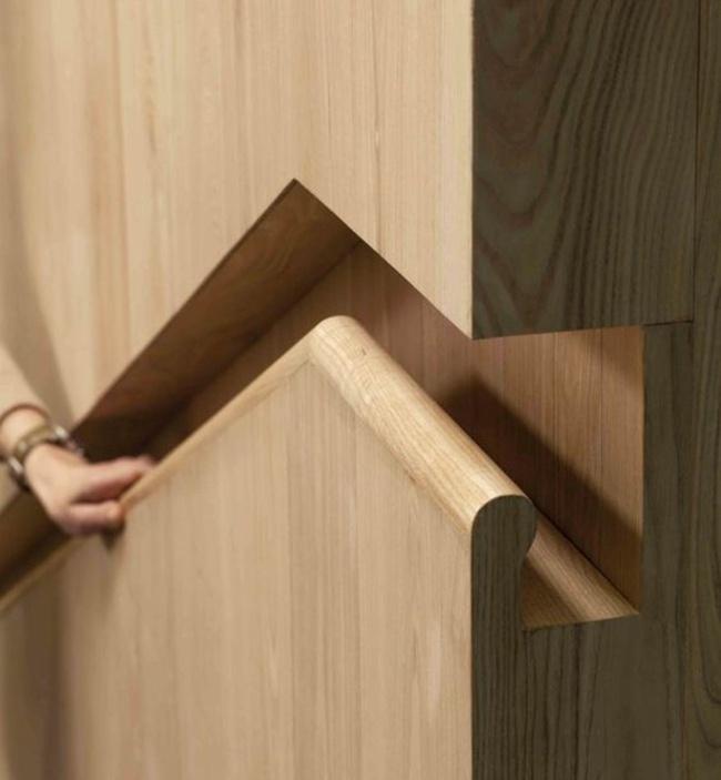 cortado pared manera diseño lineas