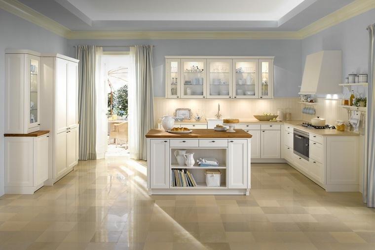 cortina de cocina diseno cocina amplia original ideas