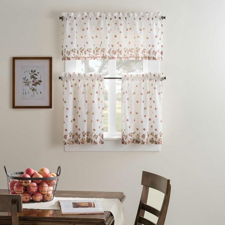 cortina de cocina diseno cocina original estampa ideas