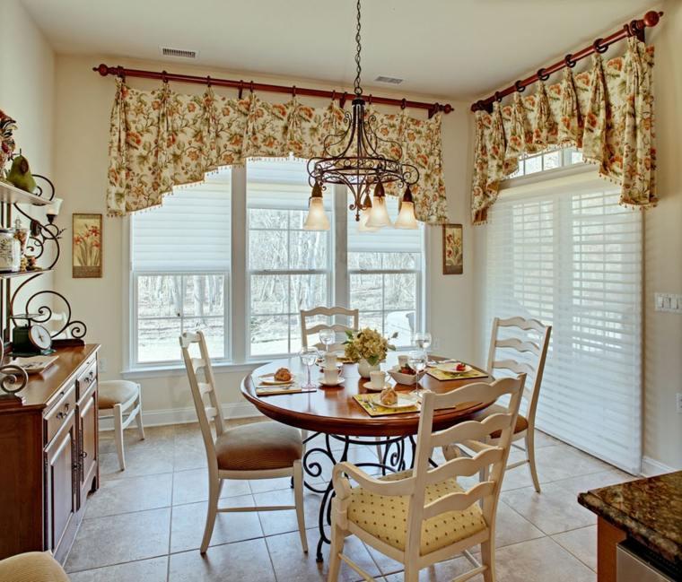 cortina de cocina diseno cocinas comedores ideas