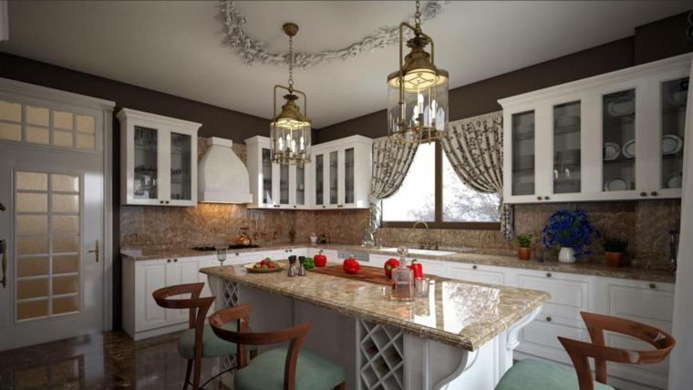 cortina de cocina diseno estilo rustico opciones ideas