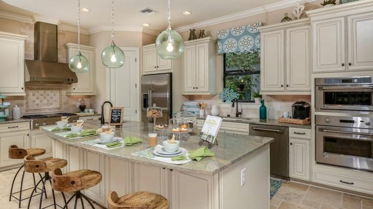 Cortina de cocina   ideas de telas y colores originales