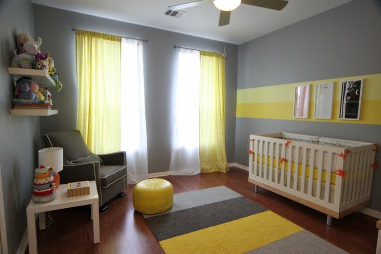 cortinas para habitacion bebe nia