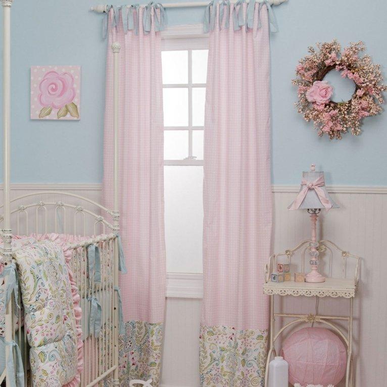 cortinas de bebés