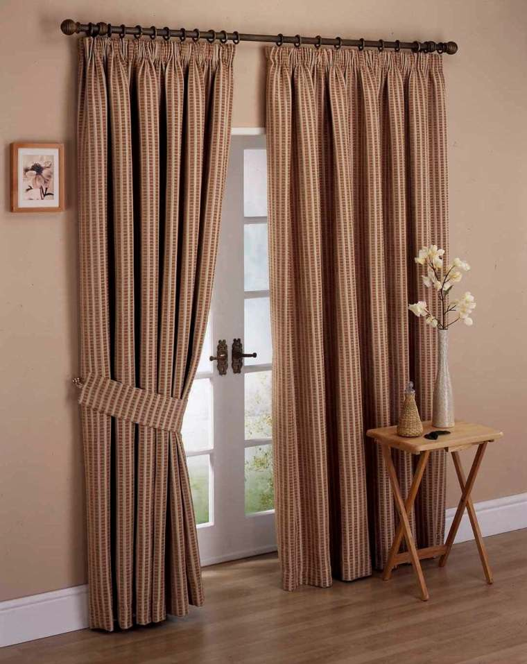 Fotos de cortinas para unos interiores muy modernos - Puertas originales interiores ...