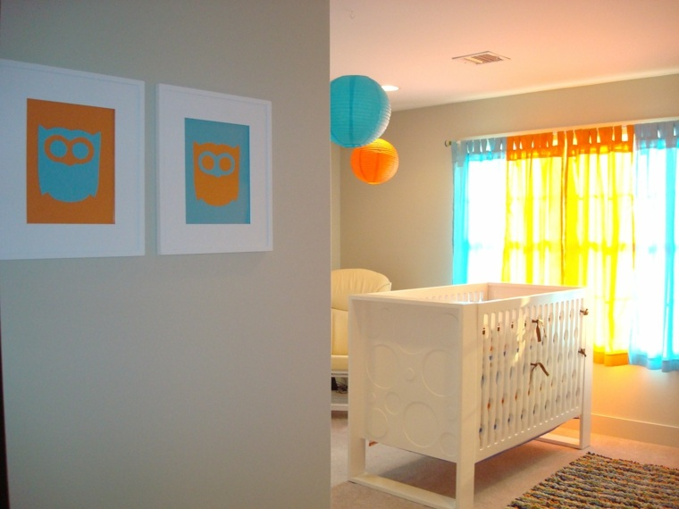 Dise os de cortinas para ni os modelos coloridos y for Diseno de habitaciones para ninos