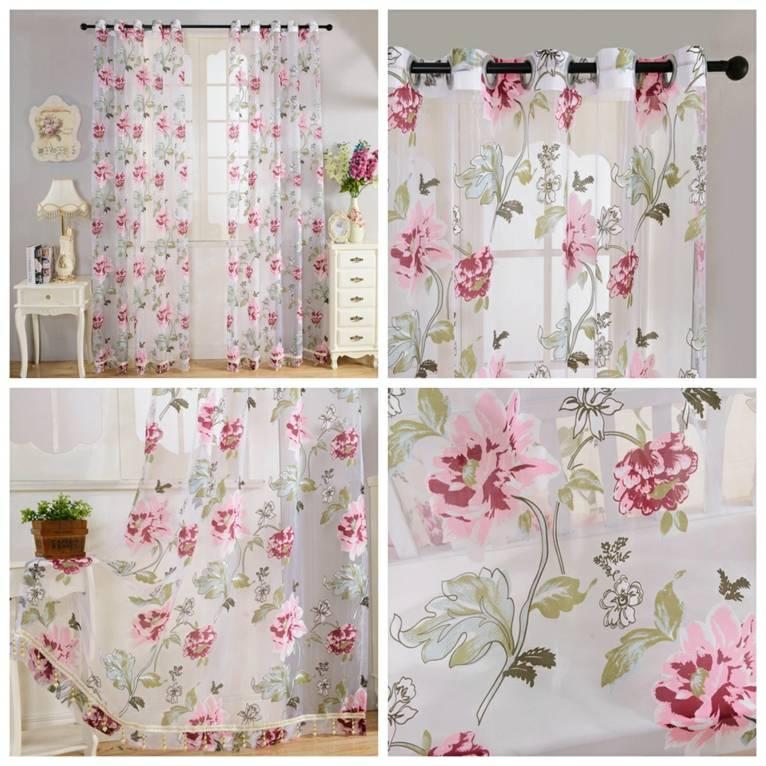 cortinas para bebé niña