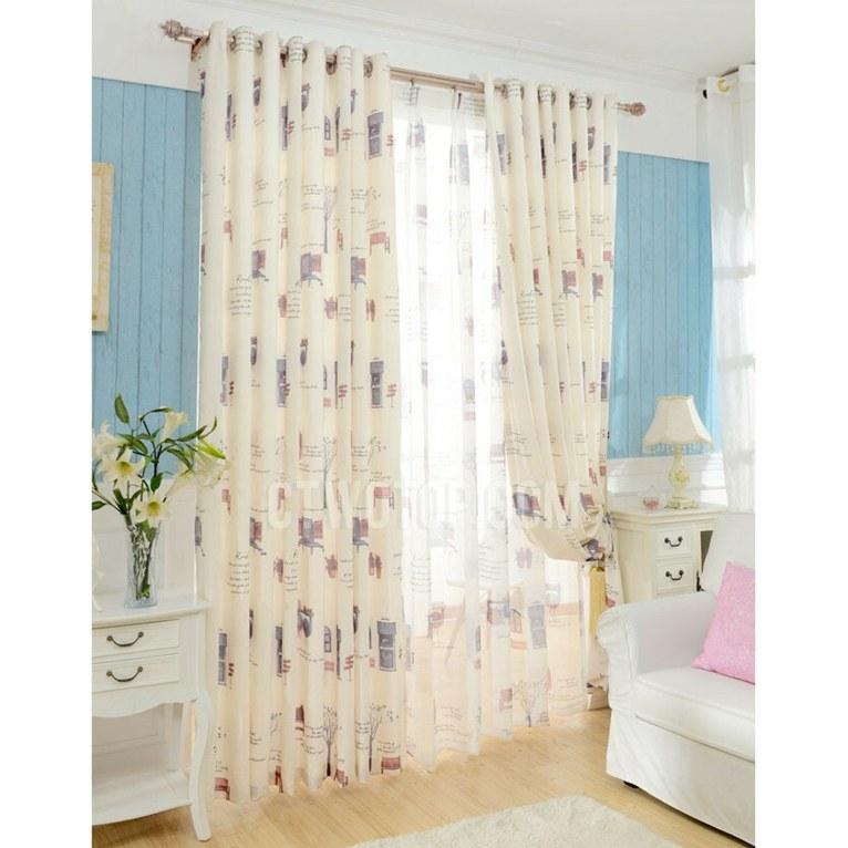 cortinas para bebés decoración habitación