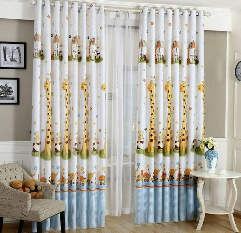 cortinas para beb s para decorar las habitaciones. Black Bedroom Furniture Sets. Home Design Ideas