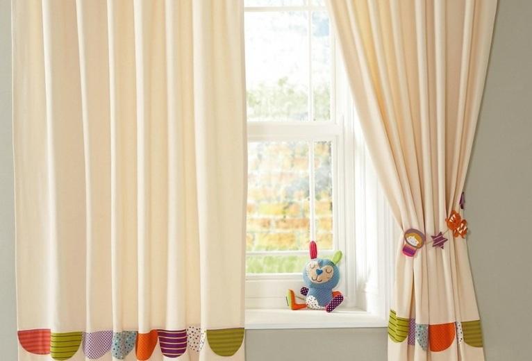 cortinas para bebs para decorar los interiores