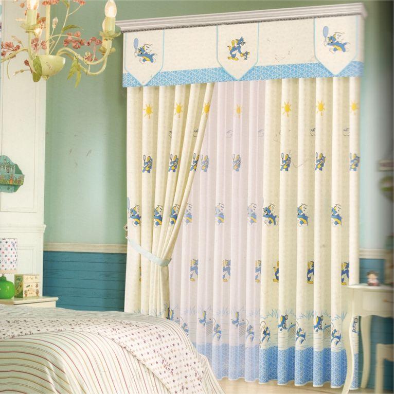 Cortinas para bebés para decorar las habitaciones -