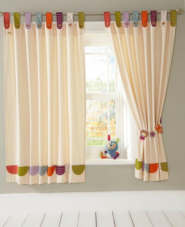 Cortinas para beb s para decorar las habitaciones for Cortinas para decorar