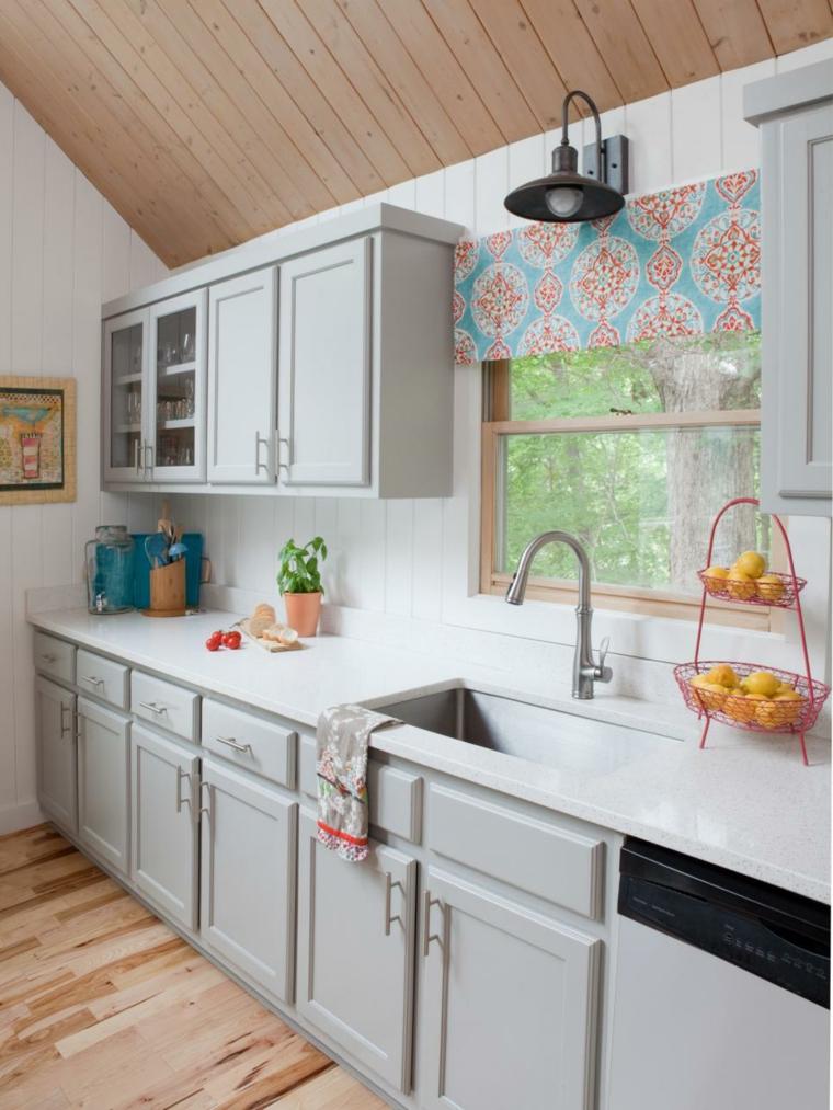 Cortinas de cocinas para los gabinetes - Casas de cocinas en sevilla ...