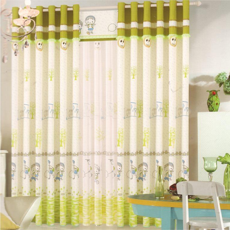 cortinas para habitacin de beb decorar