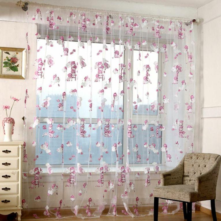 Cortinas para beb s para decorar las habitaciones for Cortinas de visillo para salon