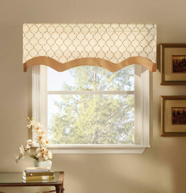 diseños cortinas para ventanas pequeñas