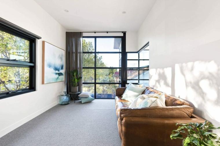 cortinas para ventanas salones amplios cristales