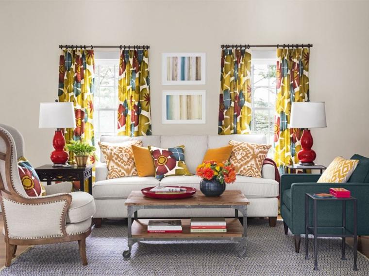 cortinas ventanas especiales muestras muebles