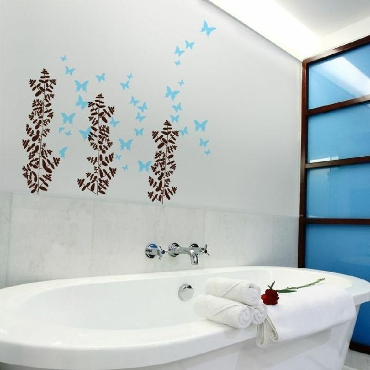 Cuadros para ba os modernos para decorar el interior - Cuadros para decorar el bano ...
