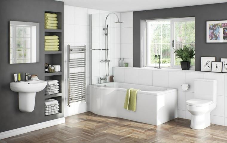 cuadros modernos para baños