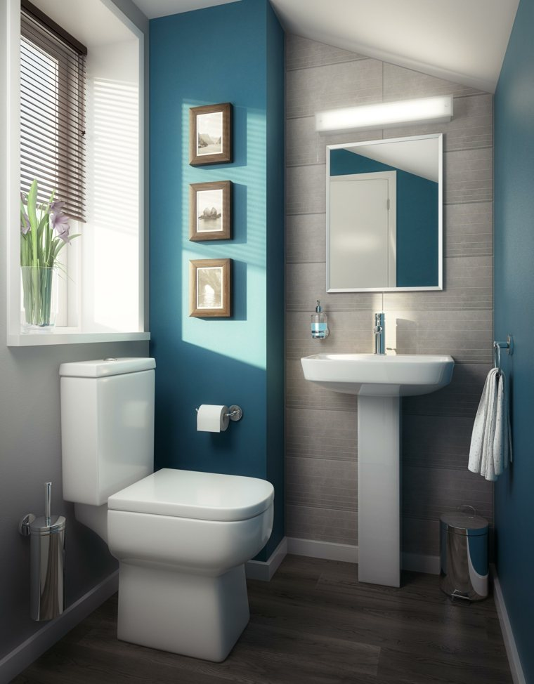 Cuadros para ba os modernos para decorar el interior for Washroom bathroom designs