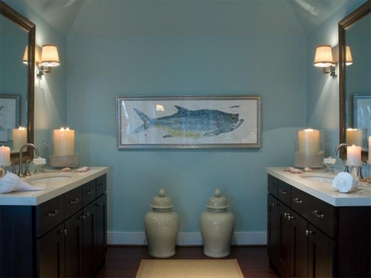 cuadros para el baño decorar