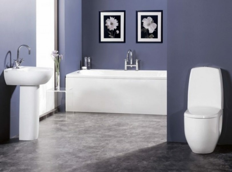 Cuadros para ba os modernos para decorar el interior - Cuadros para cuarto de bano ...