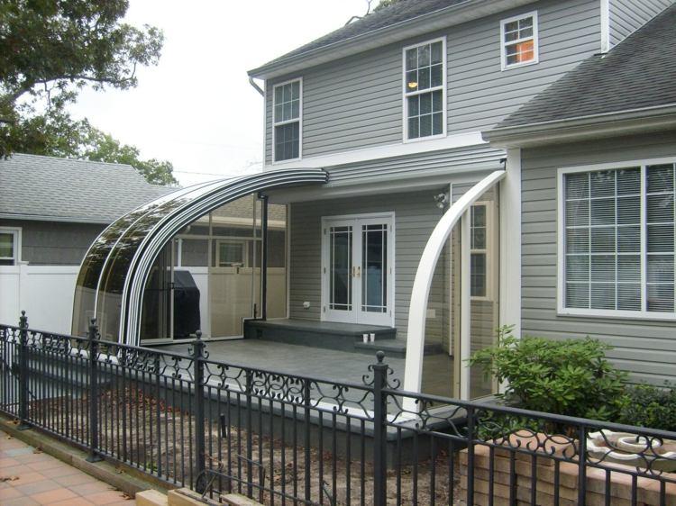cubierta fontal especial patios cristales