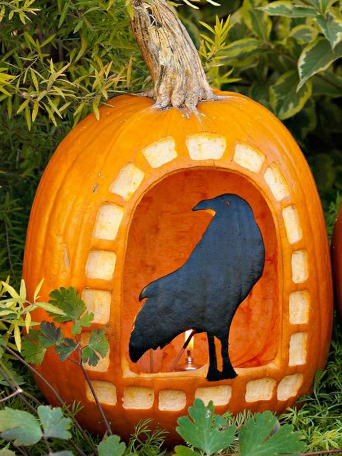 cuervos efectos ideas pintura efectos