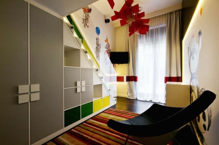 decoración cuarto ninos modernos