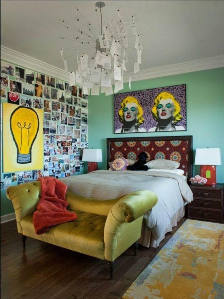 decorar cuarto estilo ecléctico
