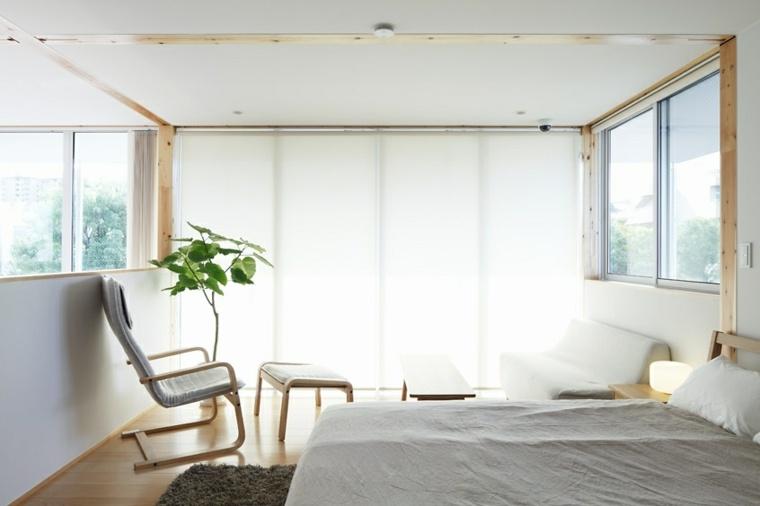 decoración habitacion estilo minimalista