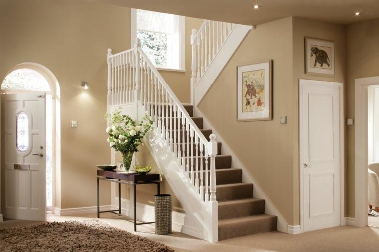 Ideas para pintar un pasillo de recibidor de entrada - Decoracion en pasillos ...