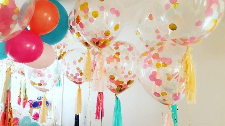 globos de fiesta colores