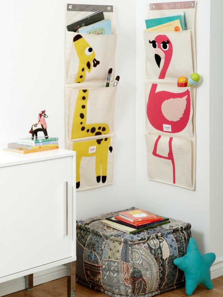 decoración habitación infantil organizadores ared fuentes