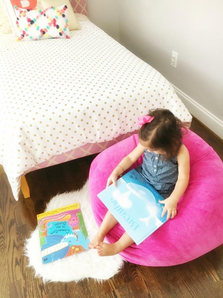 decoración habitación infantil comodos adecuados cojines
