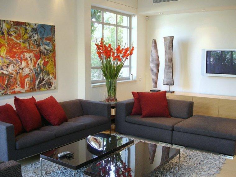decoración barata salón