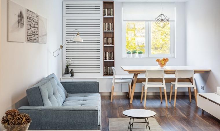 decoracion casas compacto apartamento salones