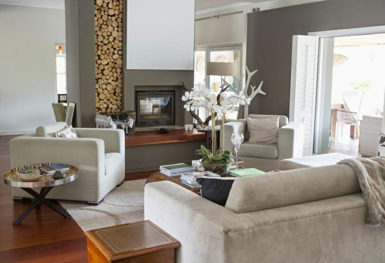 decoración cuarto de estar elegante