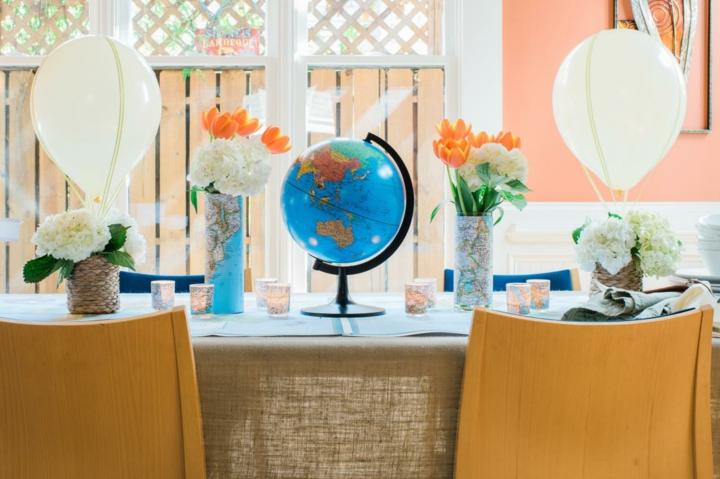 decoracion de globos especiales muebles mesas