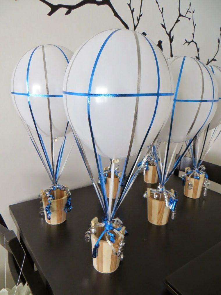 Centros de mesa con globos para decorar en fiestas - Las mesas fiestas 2017 ...