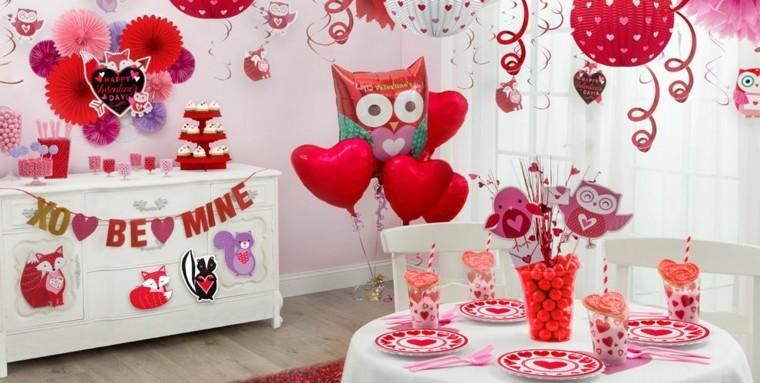 Dia De San Valentin Una Decoracion De Emociones Y Sentimientos - Decoracion-san-valentin