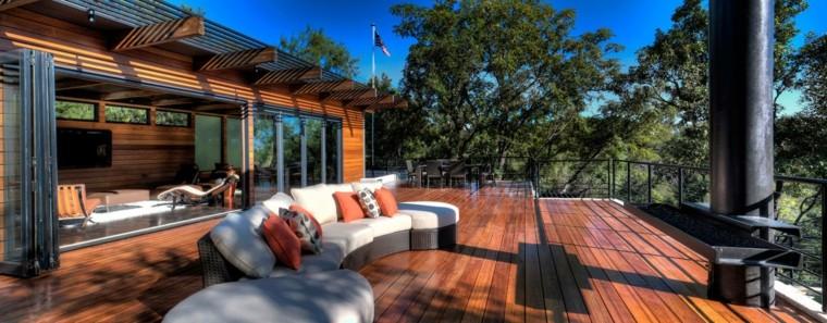 decoracion de terrazas exteriores John Grable Architects ideas