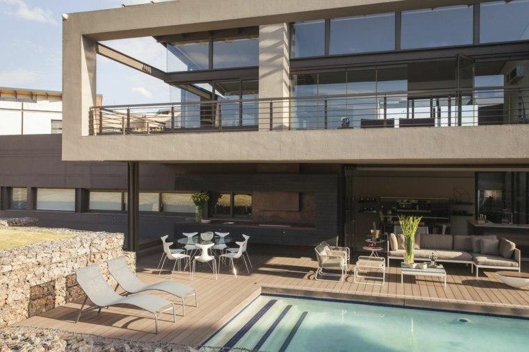 decoracion de terrazas exteriores diseno Nico van der Meulen Architects ideas