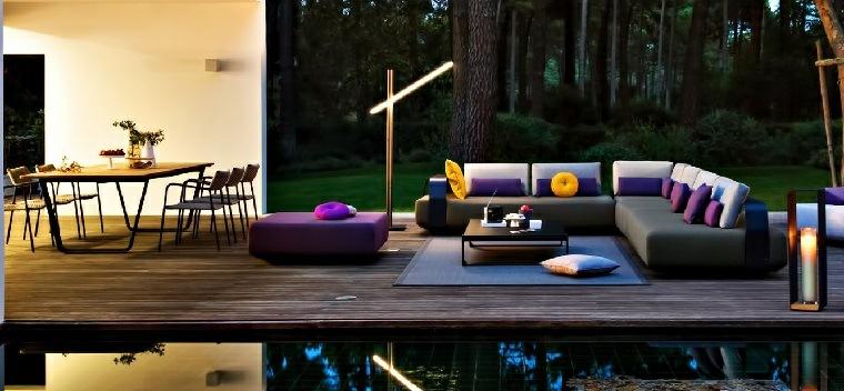 decoracion de terrazas exteriores modernos muebles contemporaneos ideas