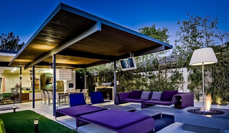 decoracion de terrazas exteriores muebles diseno espectacular ideas