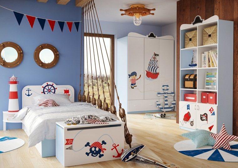 Decoración habitaciones infantiles con diseños inspiradores -