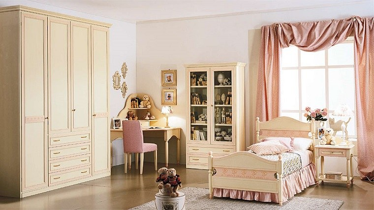 decoración habitaciones infantiles estilo diseno clasico ideas