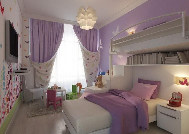 decoración habitaciones infantiles lugar juegos ideas