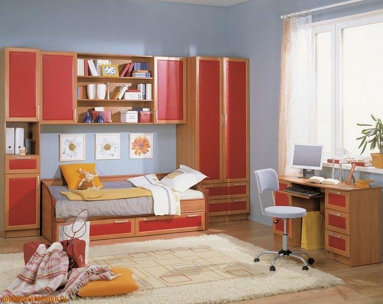 decoración habitaciones infantiles muebles clasicos ideas
